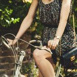 自転車に乗るとできるおしりの汗じみが恥ずかしい!みんなはどうしてる?
